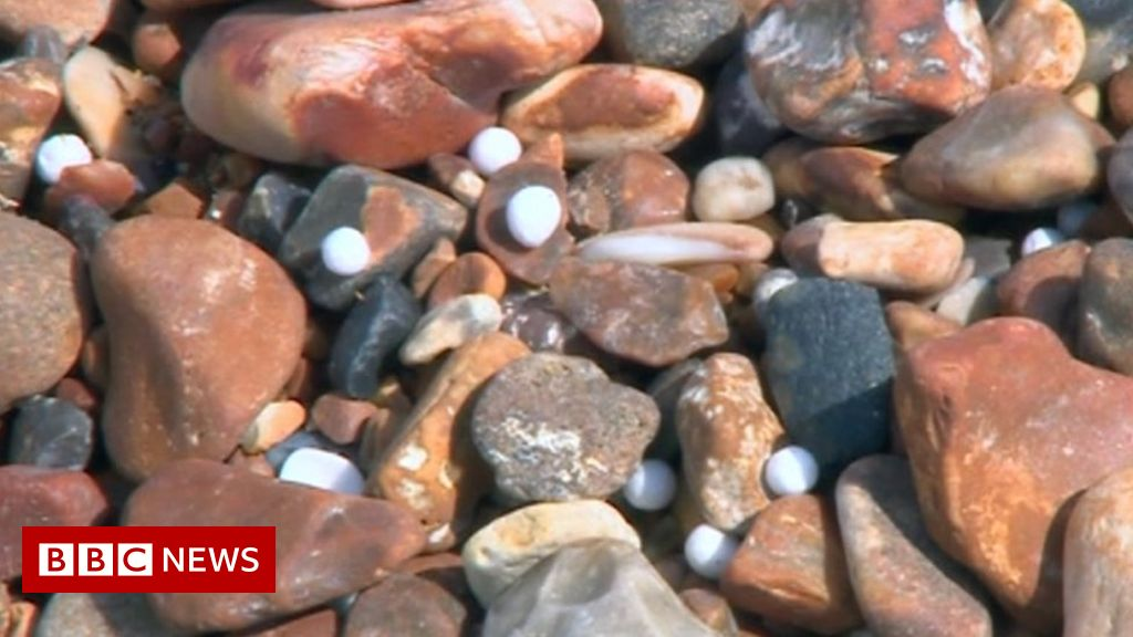 Brighton beach: Call for volunteers as polystyrene balls wash up