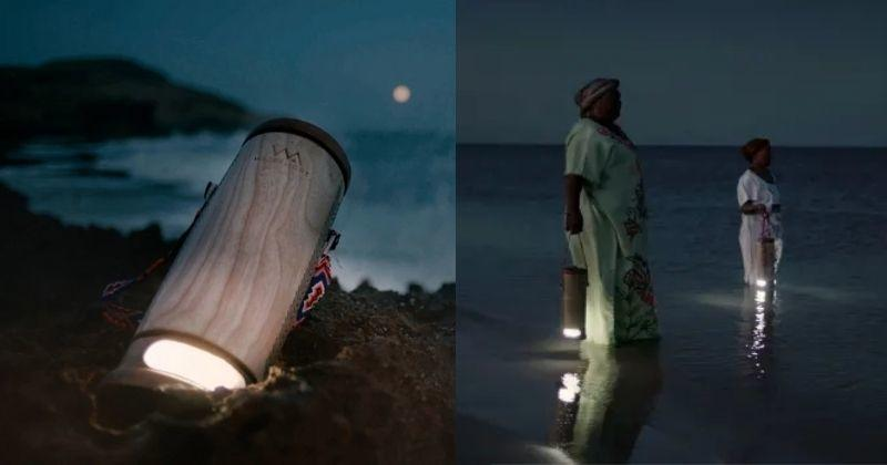 This Lantern Creates Electricity Instantly From Sea Water, Lights Up For 45 Days