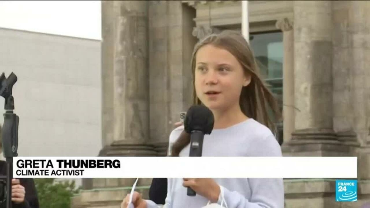 Thunberg tells Germans 'no party' doing enough on climate