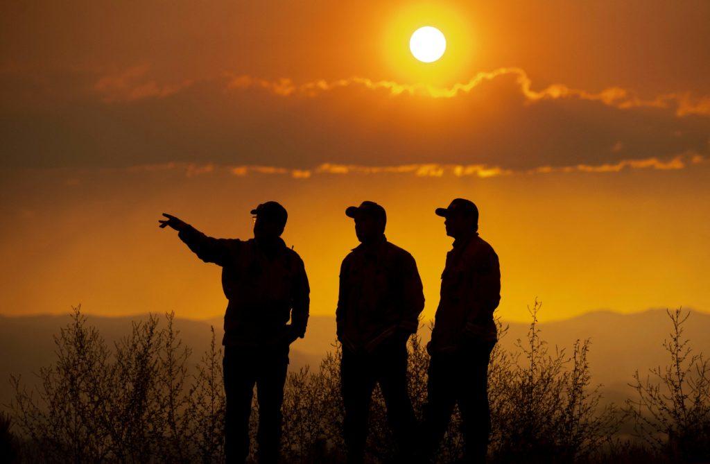 Firefighters make progress against California forest fires