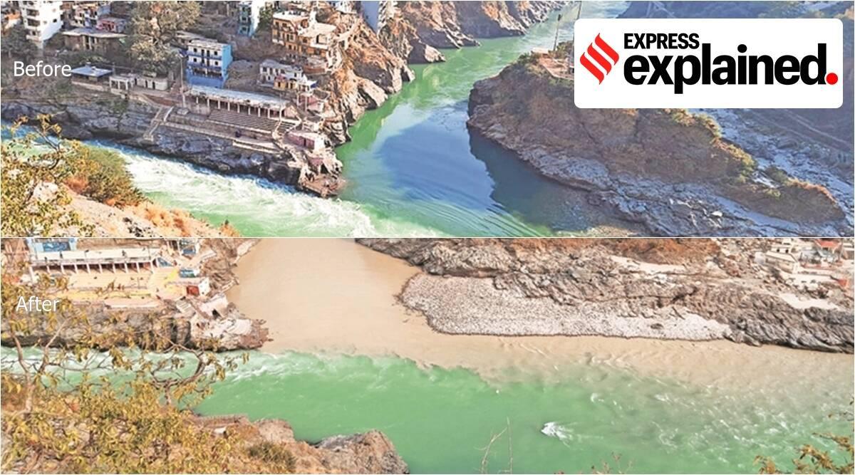 Explained: How flash flood has changed Alaknanda colour