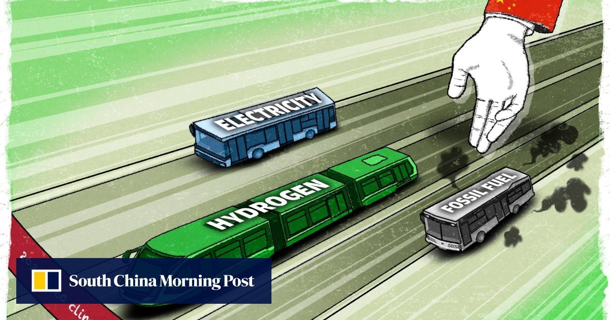 China's carbon neutral goal: Foshan leads a silent revolution in green transport with its hydrogen trams