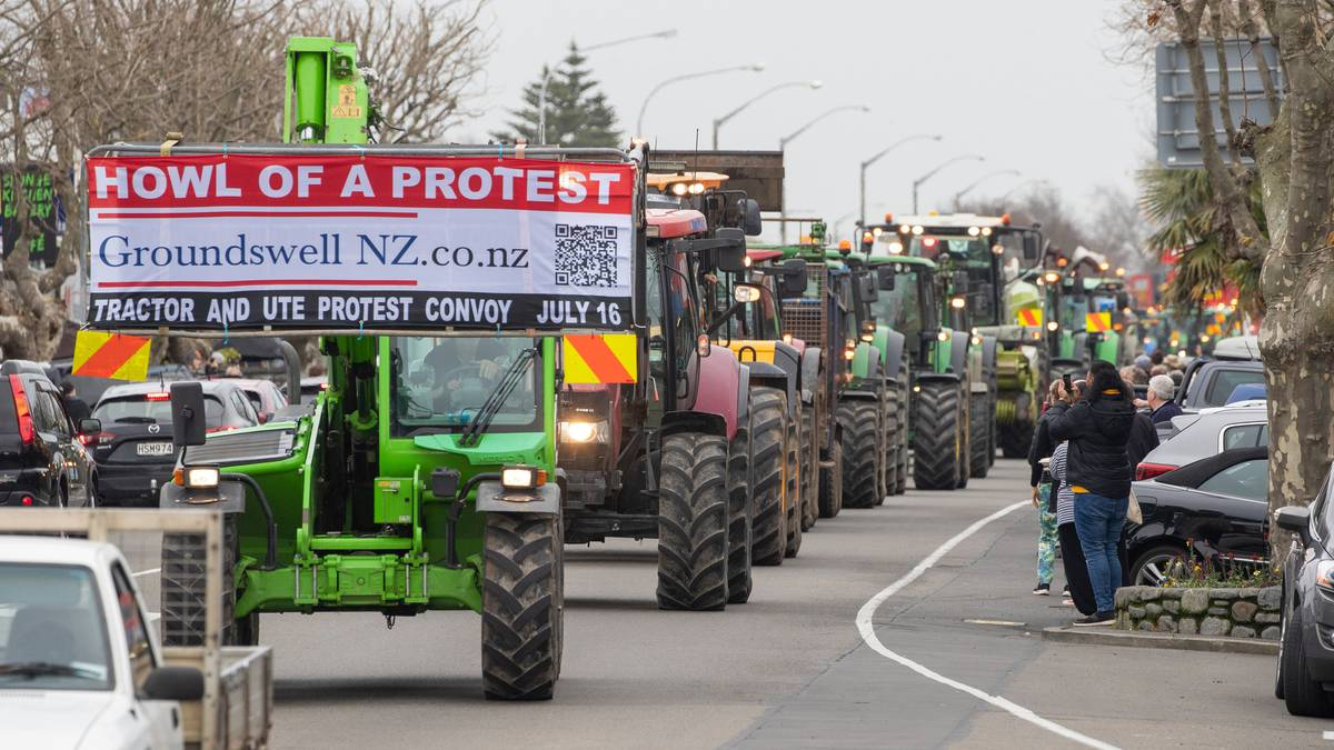 Opinion: Why farmers protested in NZ towns and cities
