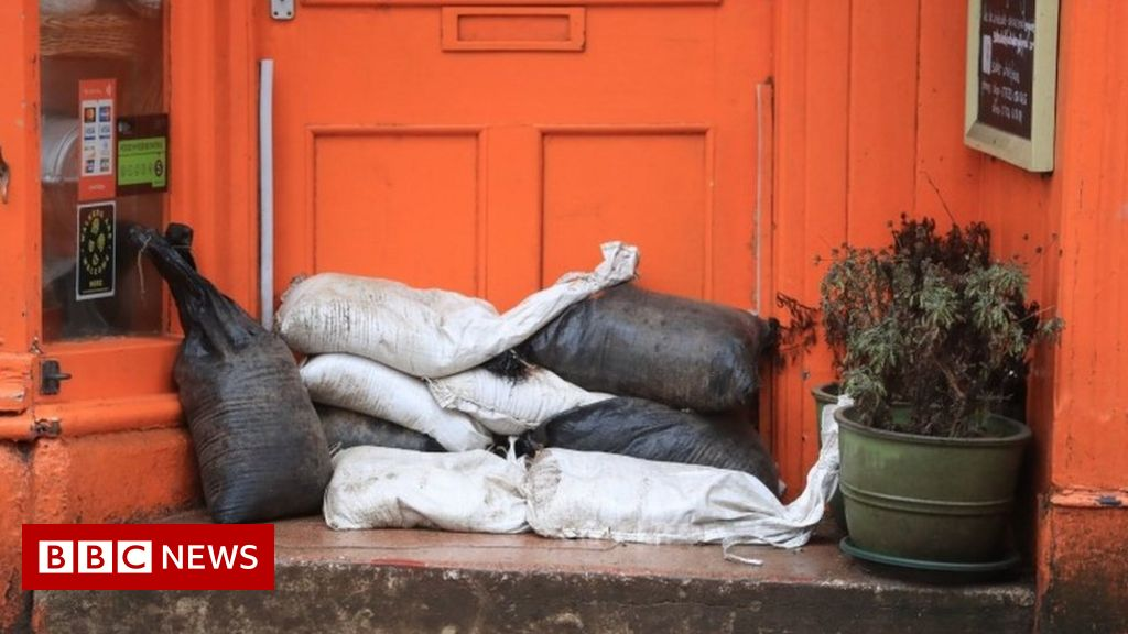 Storm Christoph: Flood warnings in parts of England