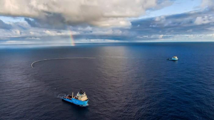 海洋清洁组织超越测试范围 并概述一个比此前收集屏障大3倍的系统