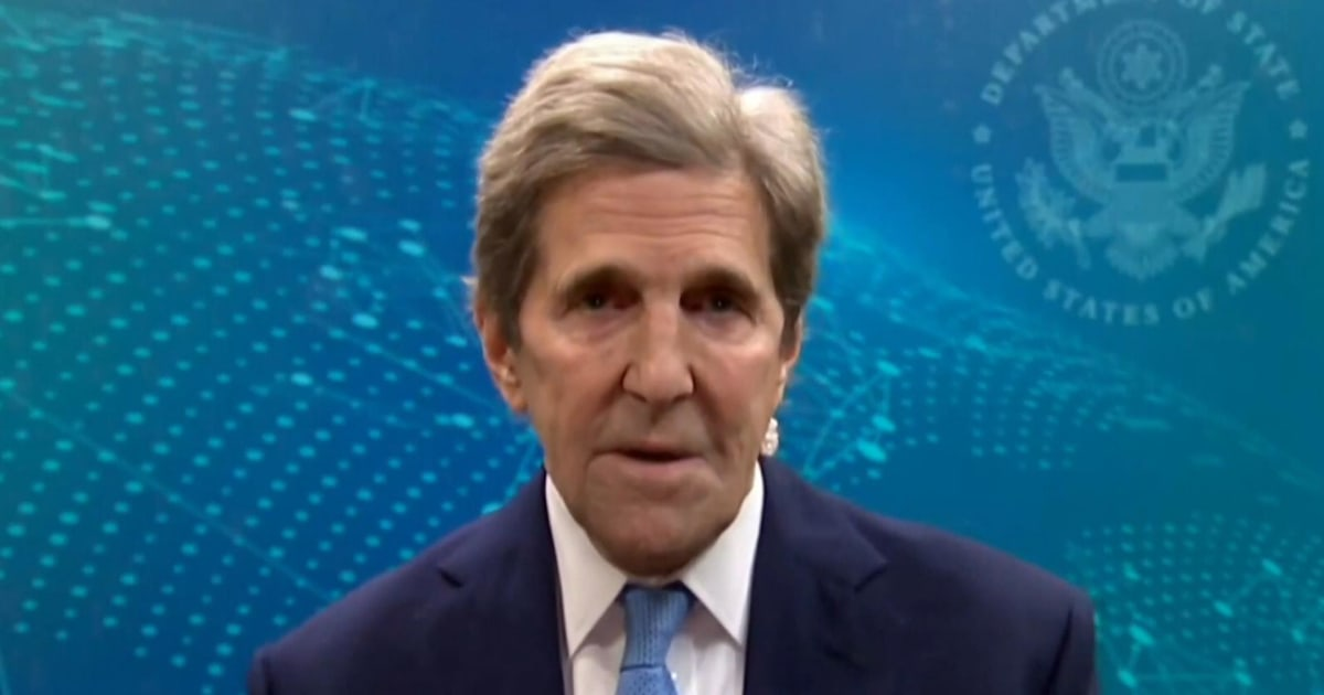 John Kerry: 'It is the climate crisis now'