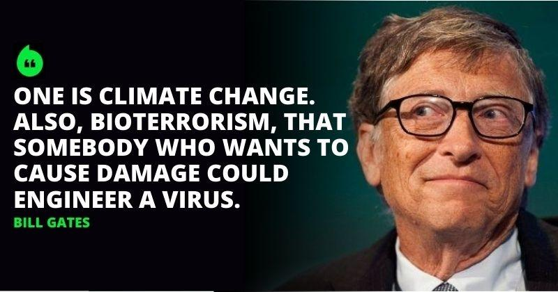 Bioterrorism & Climate Change Are Next Big Threats To World, Says Bill Gates