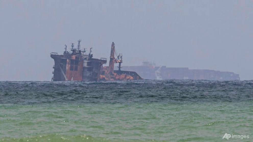 Sri Lanka seeks initial US$40 million from cargo ship's operator