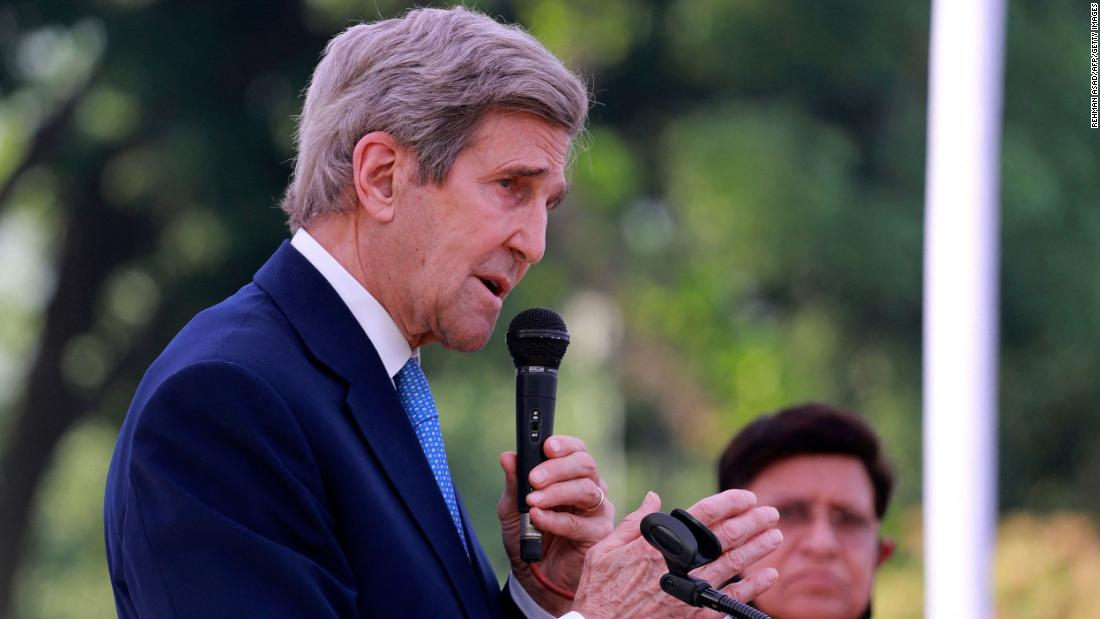 US climate envoy John Kerry to travel to China for talks