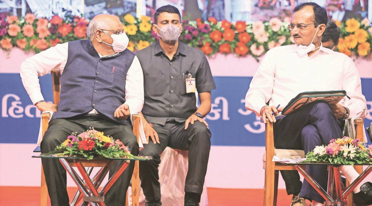 Instead of sourcing O2 from cylinders, trees being planted, says CM Bhupendra Patel