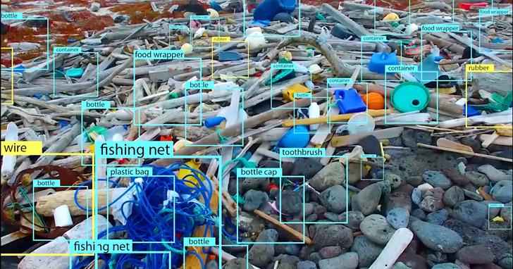 一周飛越50萬平方公尺,無人機檢測1.5公噸海灘垃圾!自動分類準確率超過95%