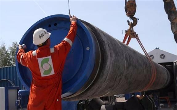 美国阻挠未果,北溪二线首条管道完成铺设 - 能源界