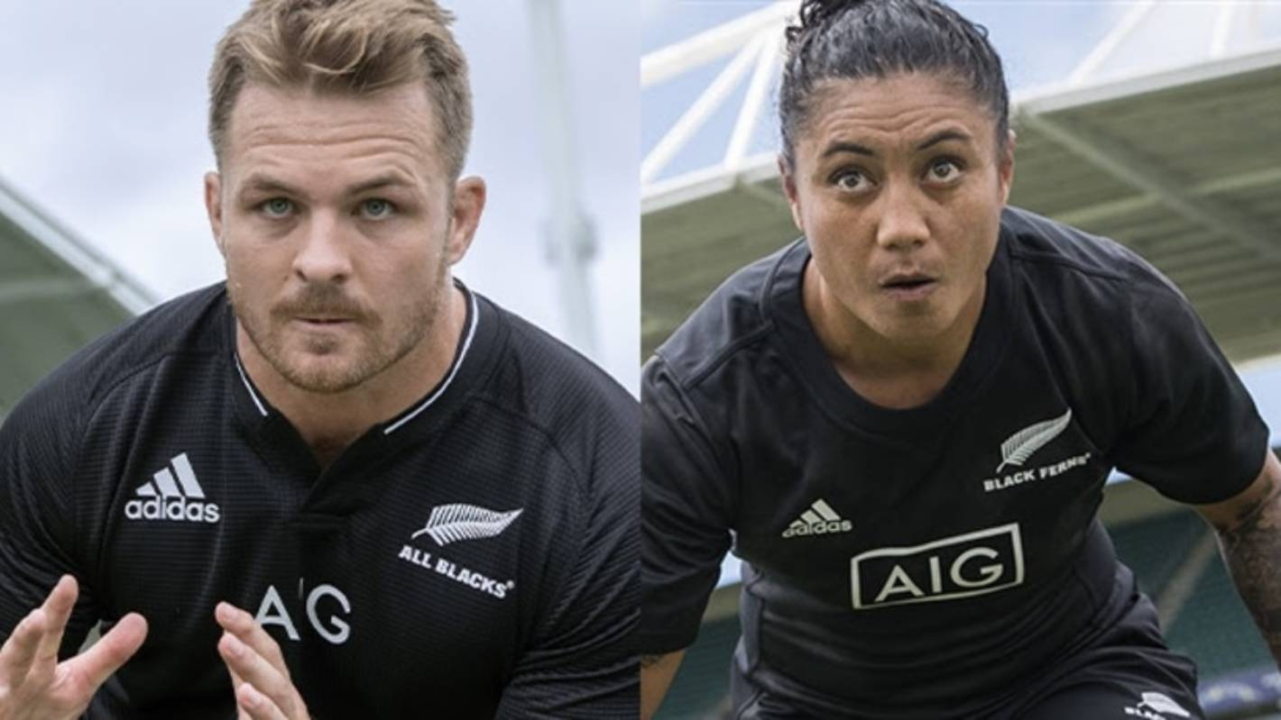 Lighter, stronger, sustainable — All Blacks, Black Ferns unveil their new jerseys