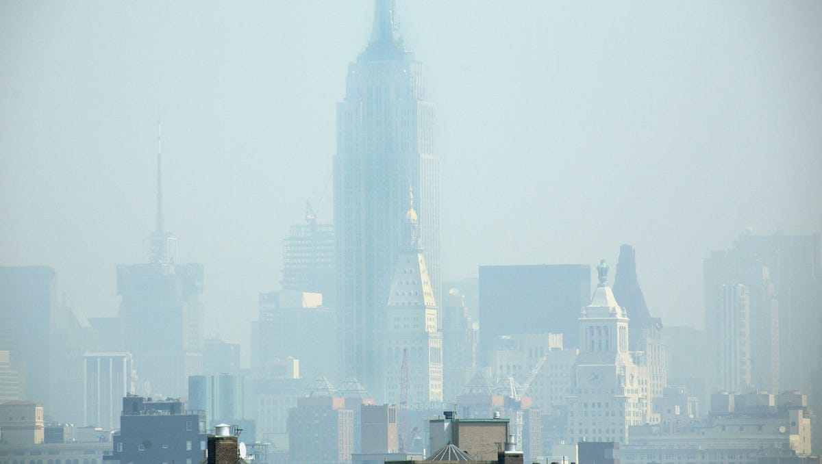 Yes, your deodorant, sun block and bug spray are polluting the air
