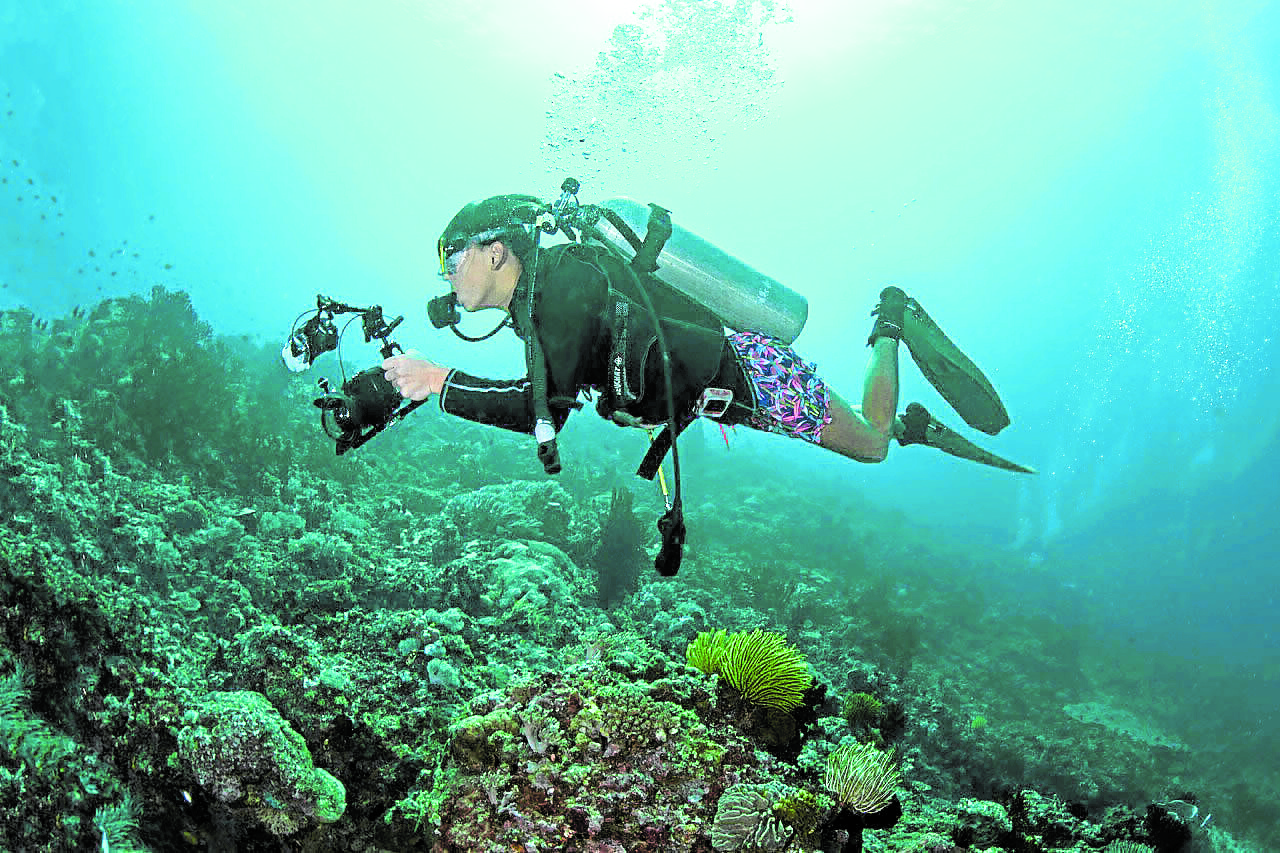 Teen marine conservation advocate launches photography book