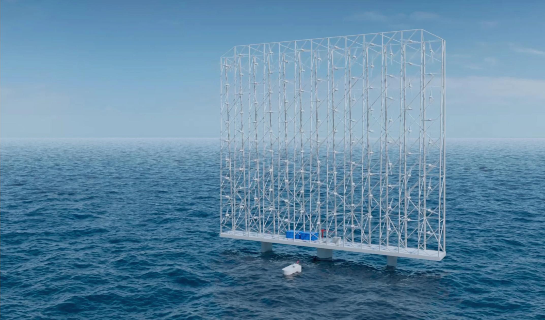 挪威WCS推出漂浮风力涡轮机阵列 年产能为全球最大单涡轮机的5倍 - 能源界