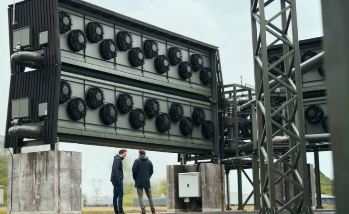 """全球最大的""""直接空气捕捉""""工厂将如何从大气中捕捉二氧化碳"""