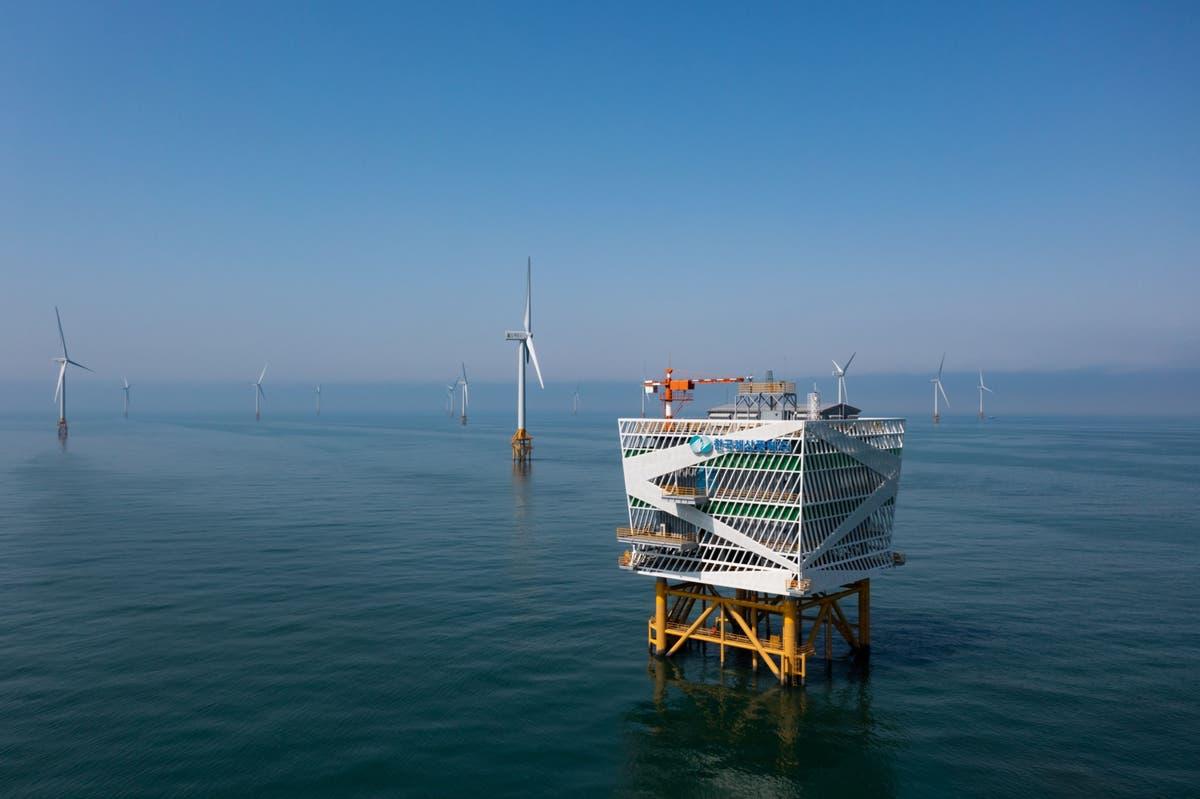 How the world's biggest wind farm may help South Korea's net-zero dream